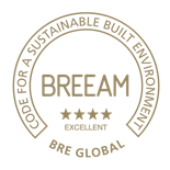 BREEAM badge
